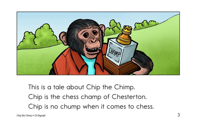 Book Preview For Chip the Chimp Page 3