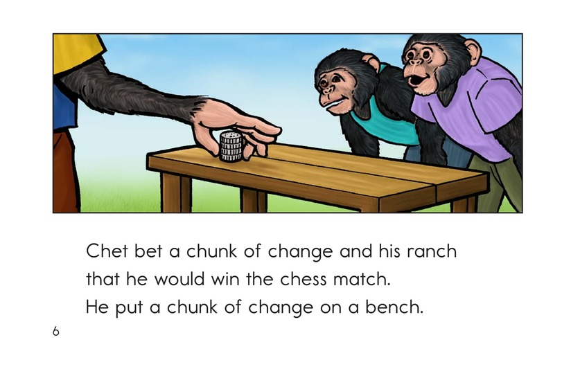 Book Preview For Chip the Chimp Page 6