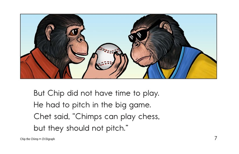 Book Preview For Chip the Chimp Page 7