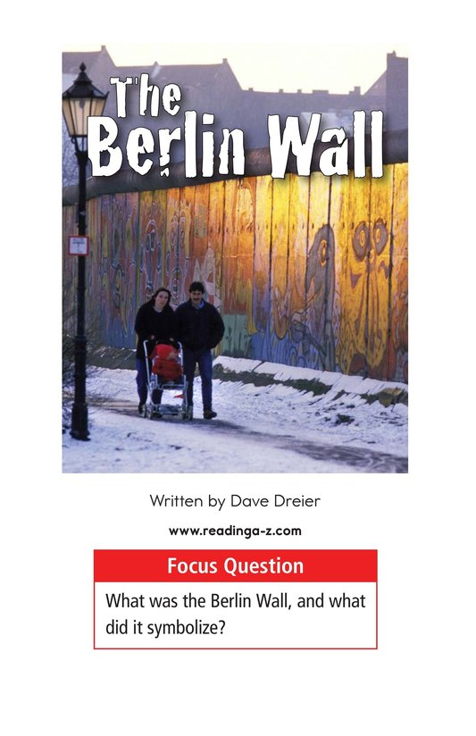 Book Preview For The Berlin Wall Page 1