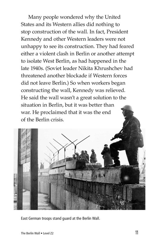 Book Preview For The Berlin Wall Page 11
