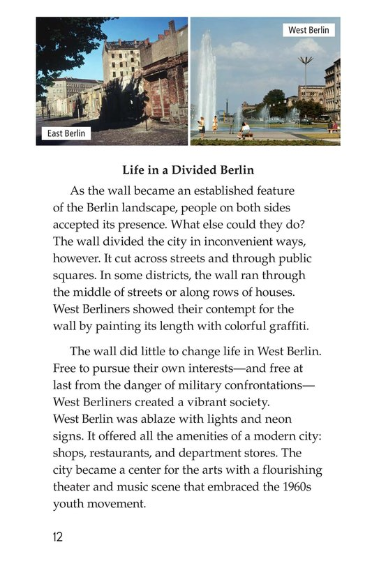 Book Preview For The Berlin Wall Page 12
