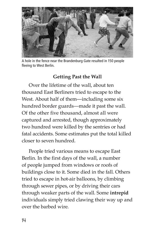 Book Preview For The Berlin Wall Page 14