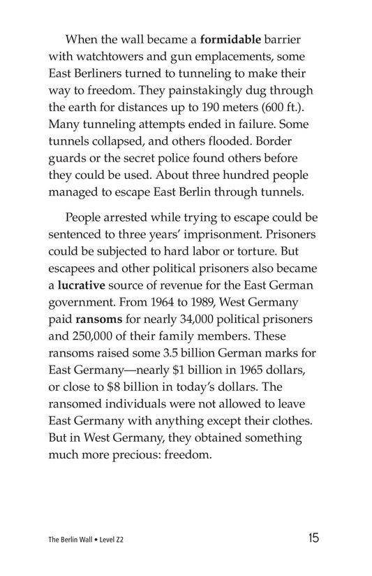 Book Preview For The Berlin Wall Page 15