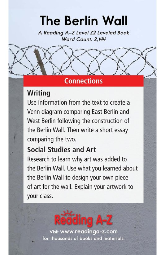 Book Preview For The Berlin Wall Page 21