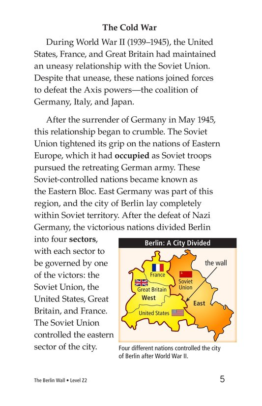 Book Preview For The Berlin Wall Page 5