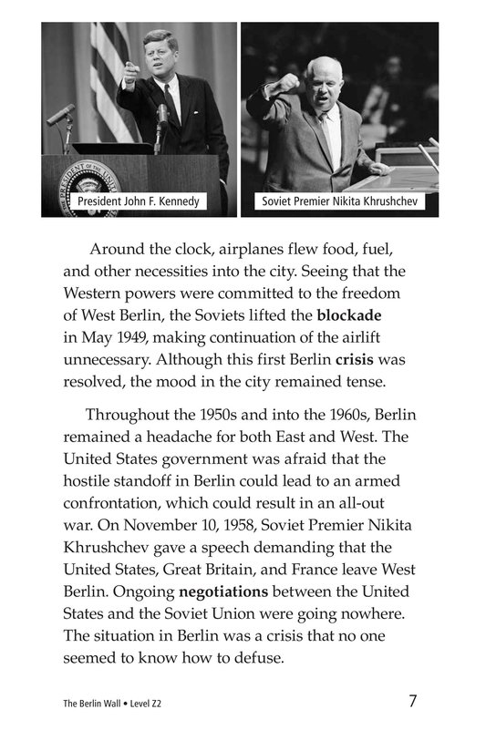Book Preview For The Berlin Wall Page 7