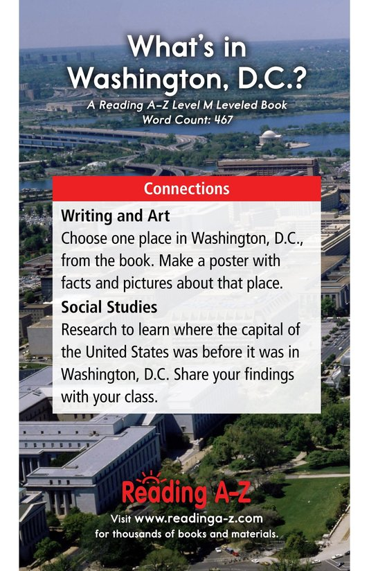Book Preview For What's in Washington, D.C.? Page 17