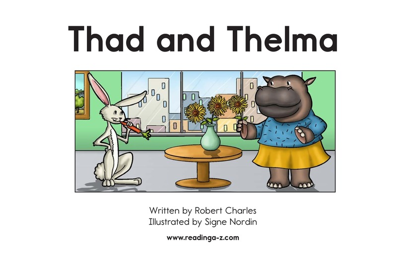 Book Preview For Thad and Thelma Page 2