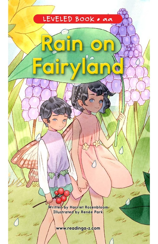 Book Preview For Rain on Fairyland Page 0