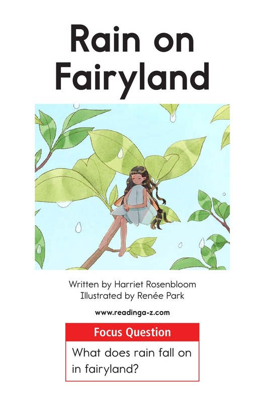 Book Preview For Rain on Fairyland Page 1