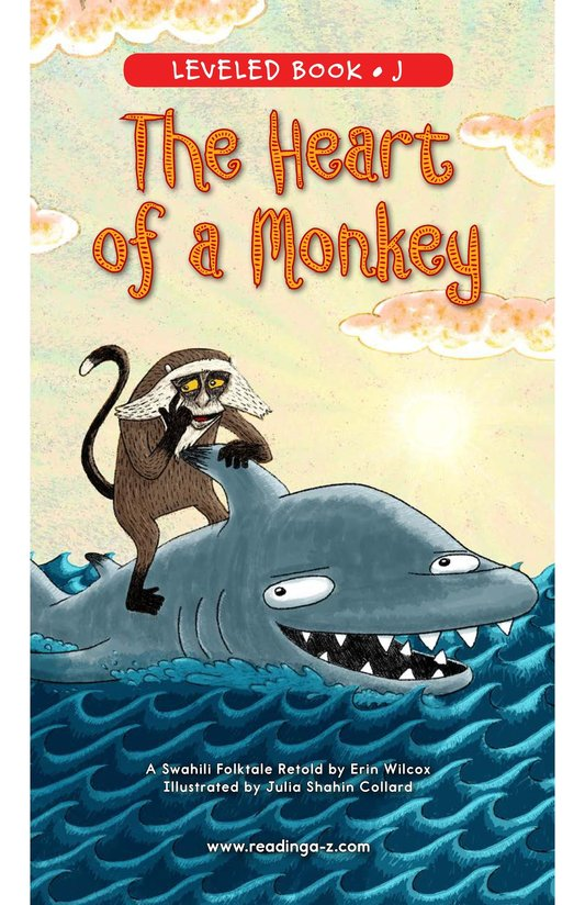 Book Preview For The Heart of a Monkey Page 0