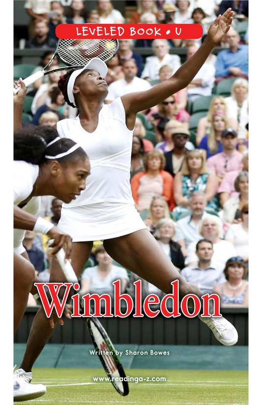 Book Preview For Wimbledon Page 0