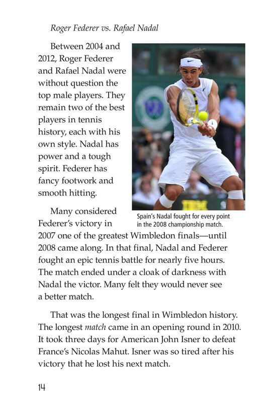 Book Preview For Wimbledon Page 14