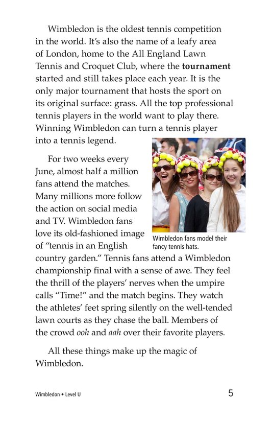 Book Preview For Wimbledon Page 5