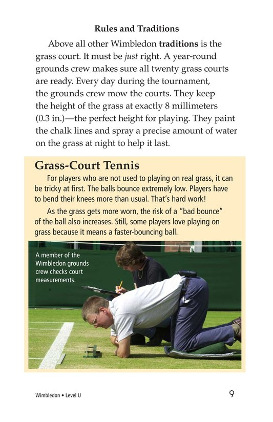 Book Preview For Wimbledon Page 9