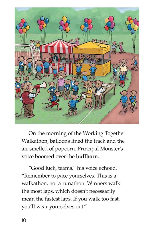 Book Preview For Morty and the Walkathon Page 10