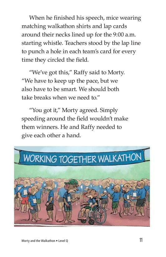 Book Preview For Morty and the Walkathon Page 11