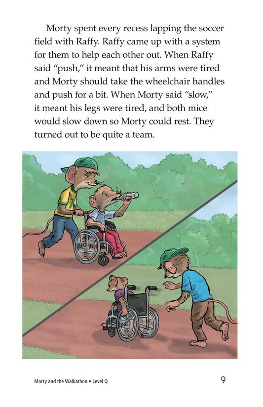 Book Preview For Morty and the Walkathon Page 9