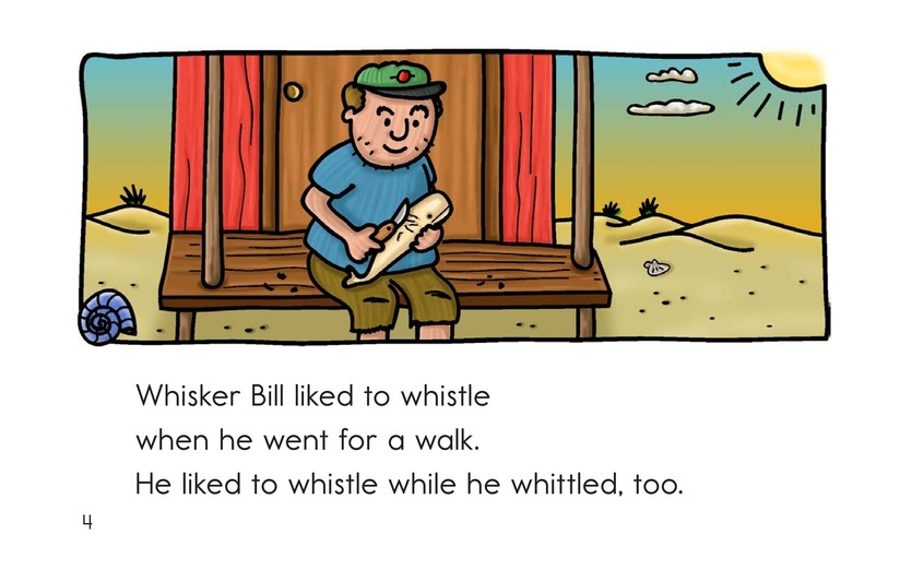 Book Preview For Whisker Bill Page 4
