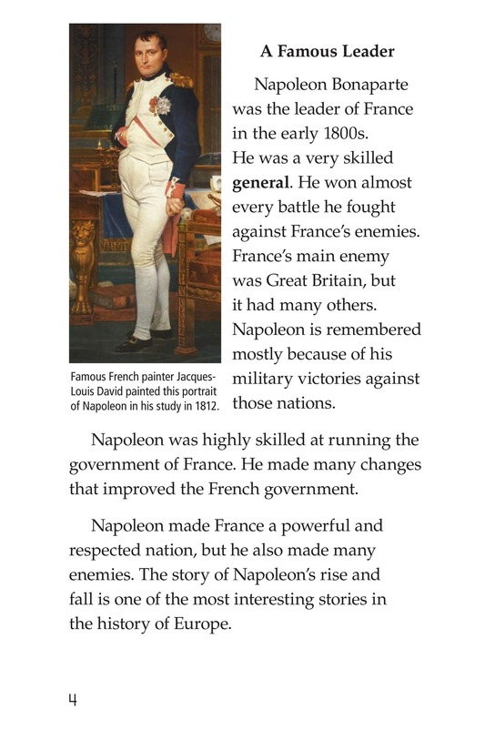 Book Preview For Napoleon Bonaparte Page 4