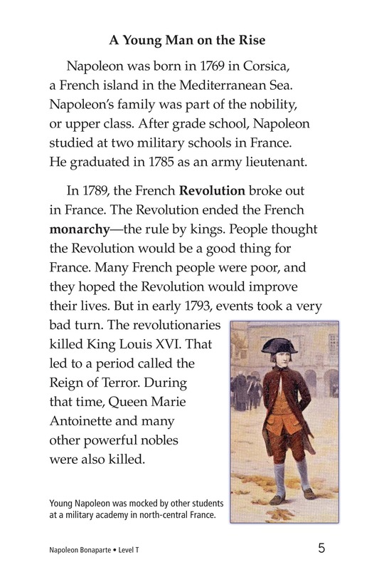 Book Preview For Napoleon Bonaparte Page 5