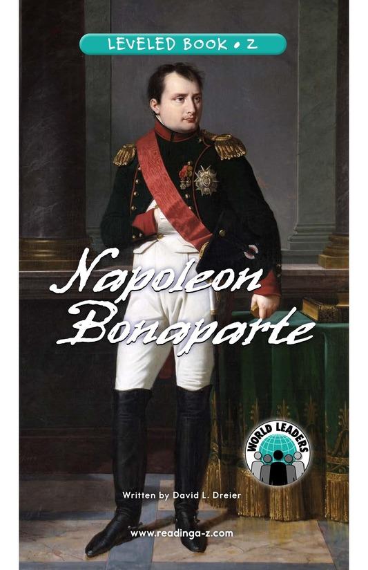 Book Preview For Napoleon Bonaparte Page 0