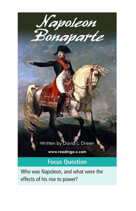 Book Preview For Napoleon Bonaparte Page 1