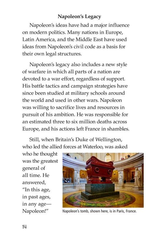 Book Preview For Napoleon Bonaparte Page 14