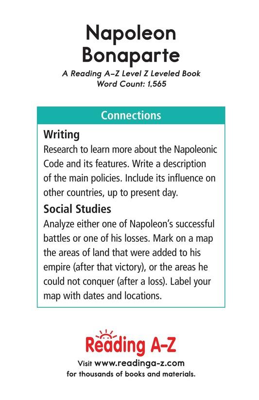 Book Preview For Napoleon Bonaparte Page 17