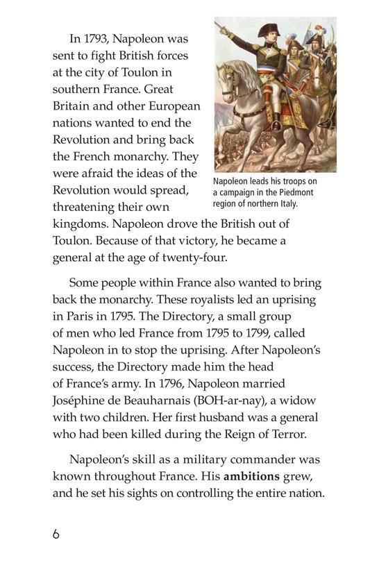 Book Preview For Napoleon Bonaparte Page 6