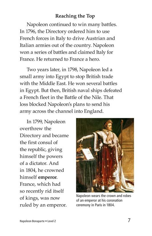 Book Preview For Napoleon Bonaparte Page 7