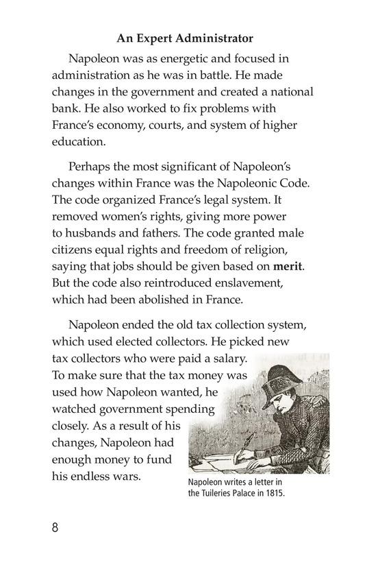 Book Preview For Napoleon Bonaparte Page 8