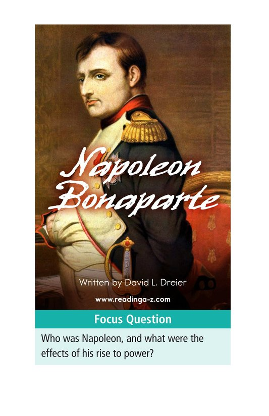 Book Preview For Napoleon Bonaparte Page 1