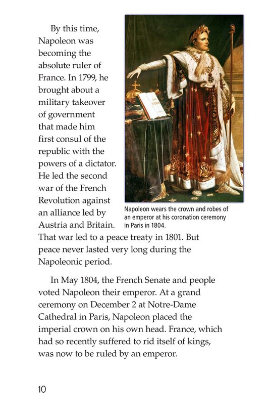 Book Preview For Napoleon Bonaparte Page 10