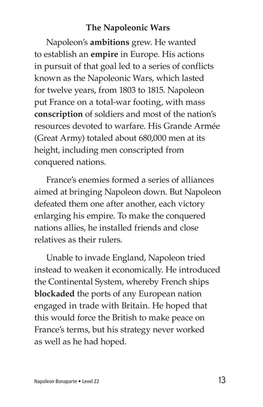 Book Preview For Napoleon Bonaparte Page 13
