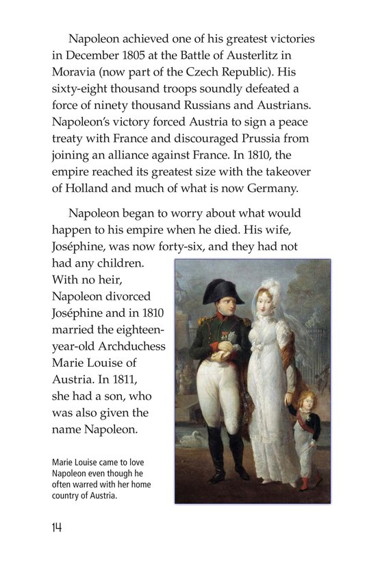 Book Preview For Napoleon Bonaparte Page 14