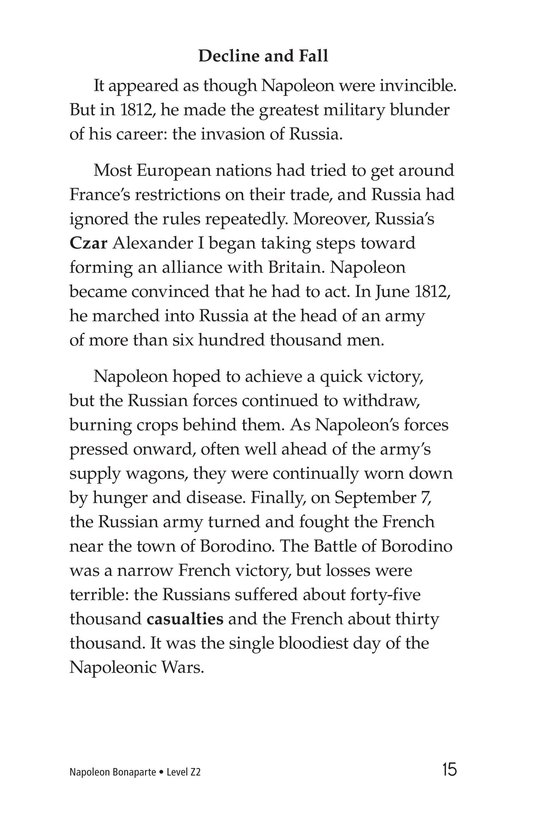 Book Preview For Napoleon Bonaparte Page 15