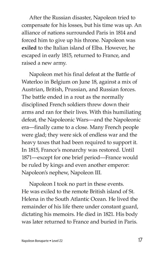 Book Preview For Napoleon Bonaparte Page 17