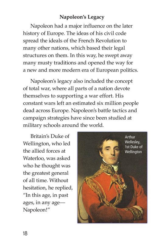 Book Preview For Napoleon Bonaparte Page 18