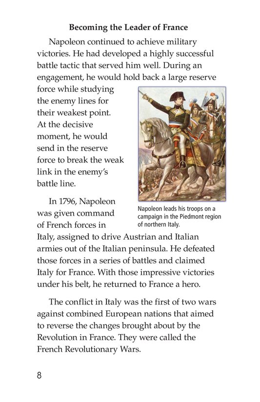 Book Preview For Napoleon Bonaparte Page 8