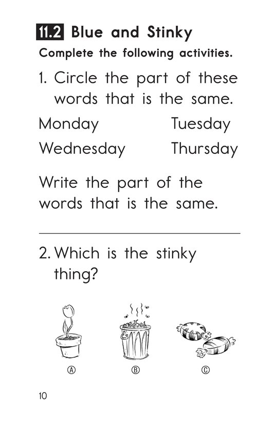 Book Preview For Decodable Passages Set 11 Book 1 Page 10