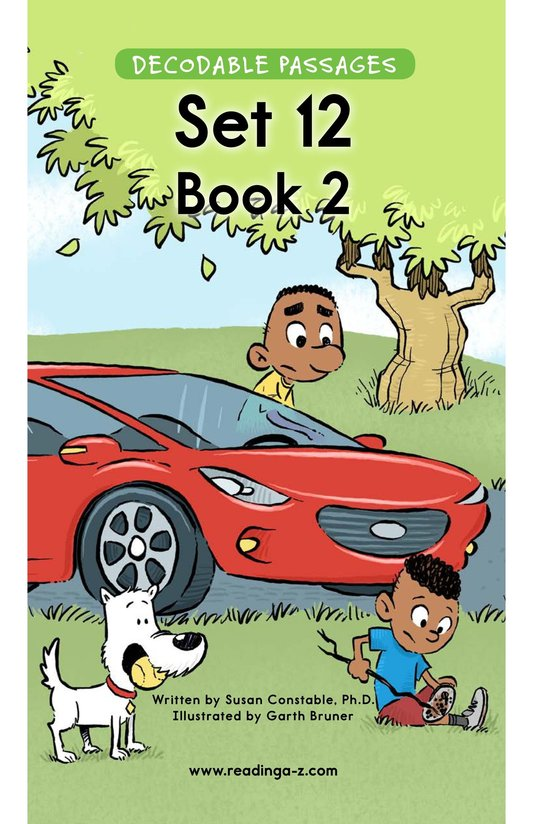 Book Preview For Decodable Passages Set 12 Book 2 Page 1