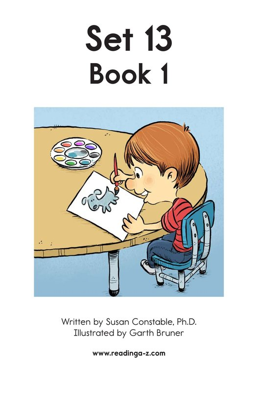 Book Preview For Decodable Passages Set 13 Book 1 Page 2