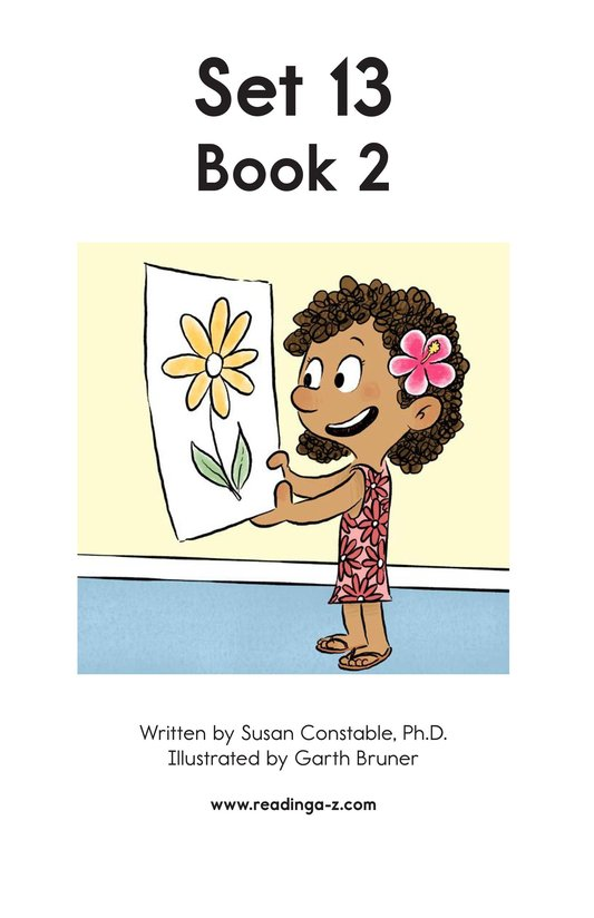 Book Preview For Decodable Passages Set 13 Book 2 Page 2