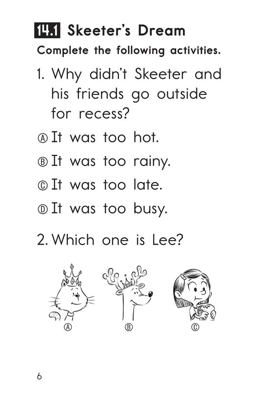 Book Preview For Decodable Passages Set 14 Book 1 Page 6
