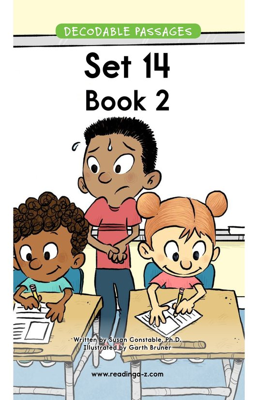 Book Preview For Decodable Passages Set 14 Book 2 Page 1