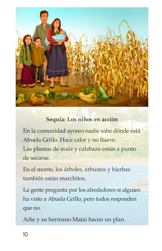 Book Preview For Abuela grillo Page 10