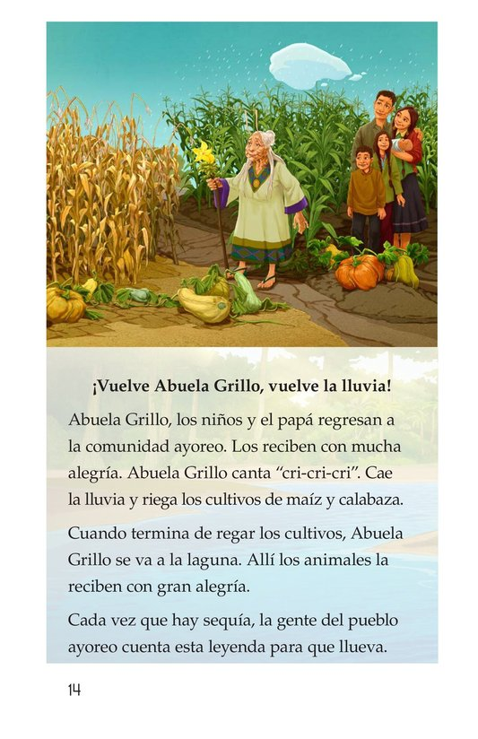 Book Preview For Abuela grillo Page 14