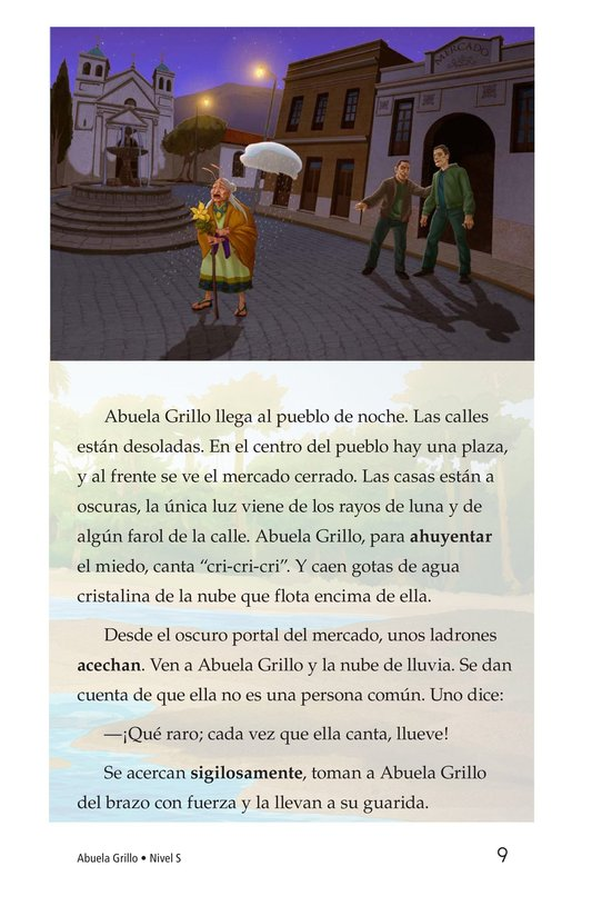 Book Preview For Abuela grillo Page 9